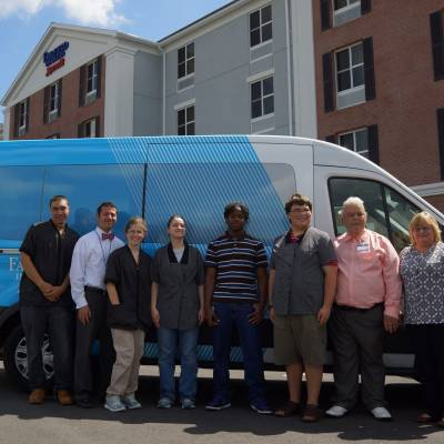 FAIRFIELD INN IS TRAINING INCUBATOR FOR BENEDICTINE'S YOUNG ADULTS