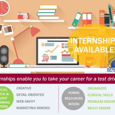 Internship opportunities available at Benedictine