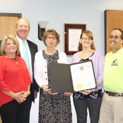 Benedictine employee receives governor's citation