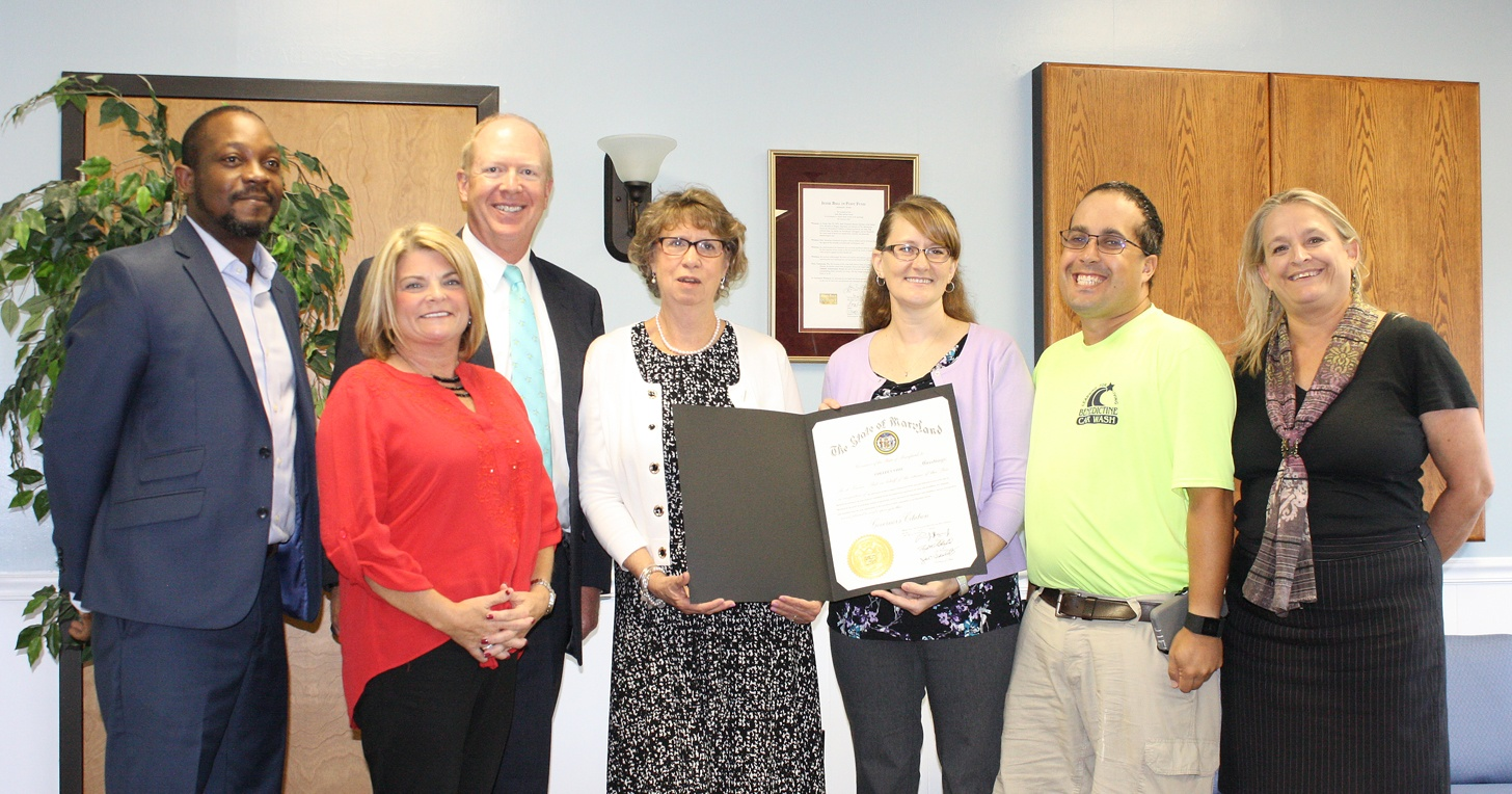 Benedictine employee receives governor's citation