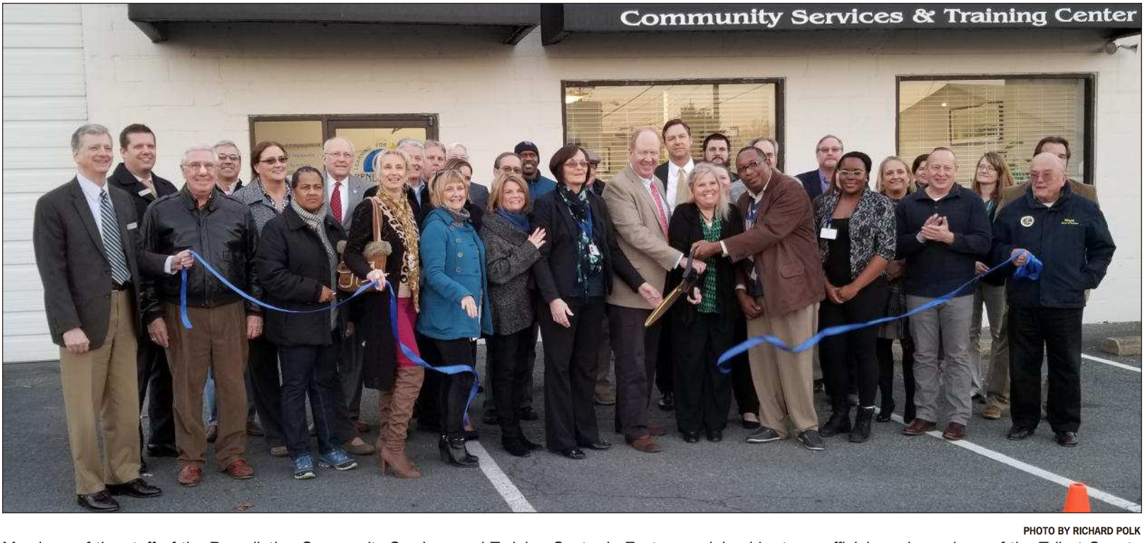 Community Services & Training Center: Opening doors in the community