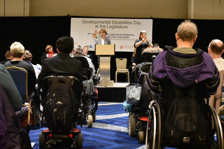 Benedictine participates in Developmental Disabilities Day at the Legislature 2018