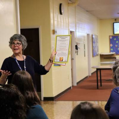 School Staff Participate in Sensory Training