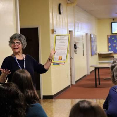 School Staff Participate in Sensory Training