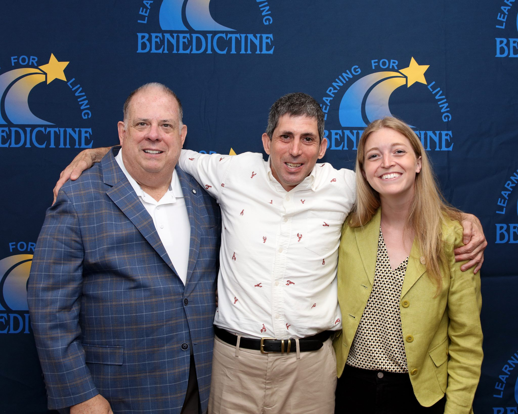 Maryland Governor Larry Hogan visits Bendictine
