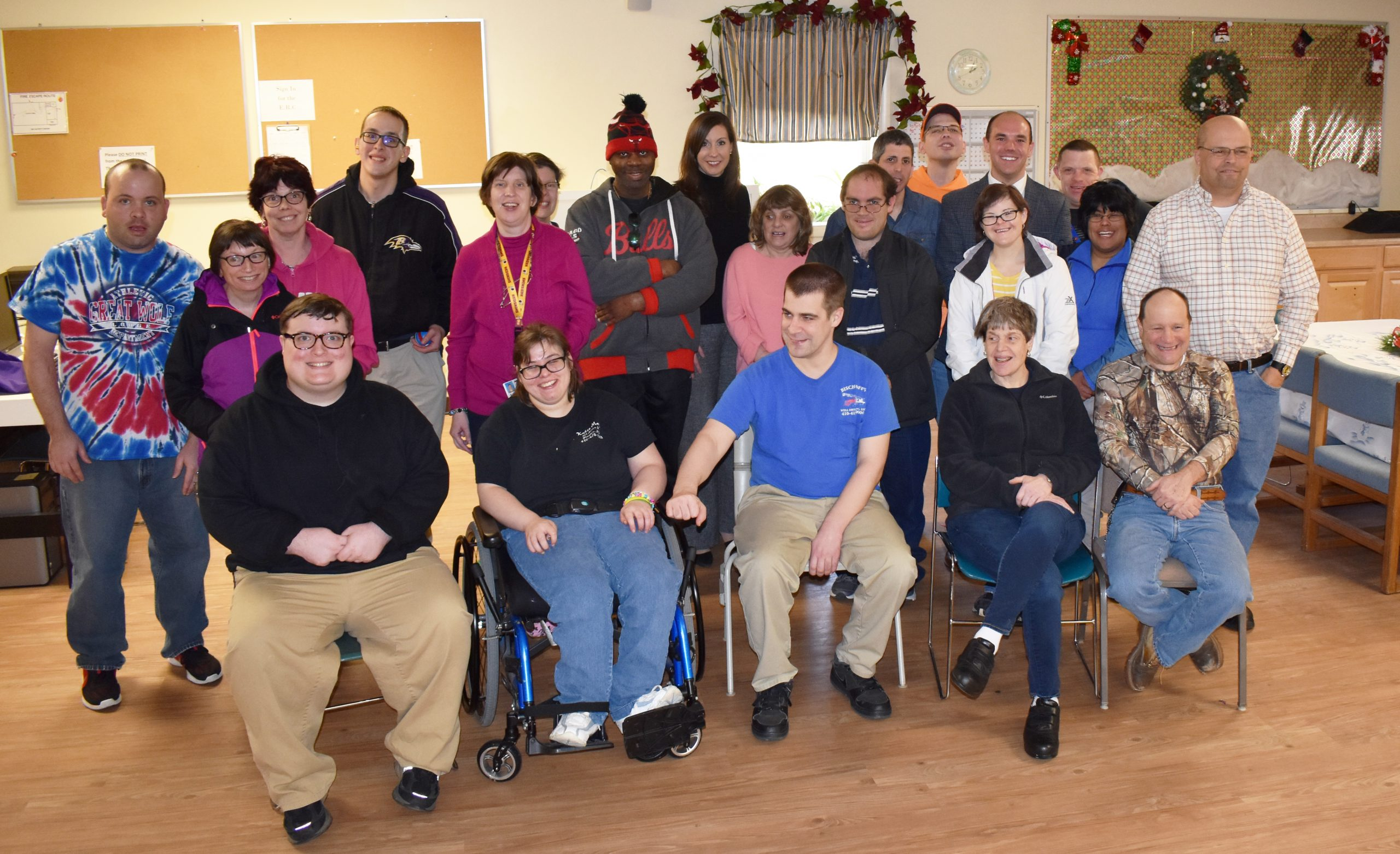 Benedictine's Advocacy Coalition of the Eastern Shore was honored with a visit by Dept. Chief of Staff, Office of the Governor