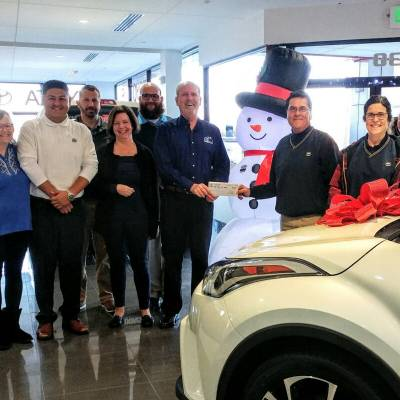 Koons Toyota of Easton donates to Benedictine's Annual Fund Campaign: Inspired to Give