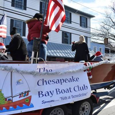 Students participate in St. Michael's – Talbot Street Parade