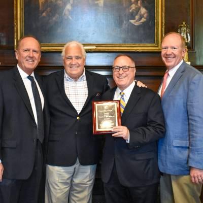 Sen. Mike Miller receives Benedictine's Cornerstone Award