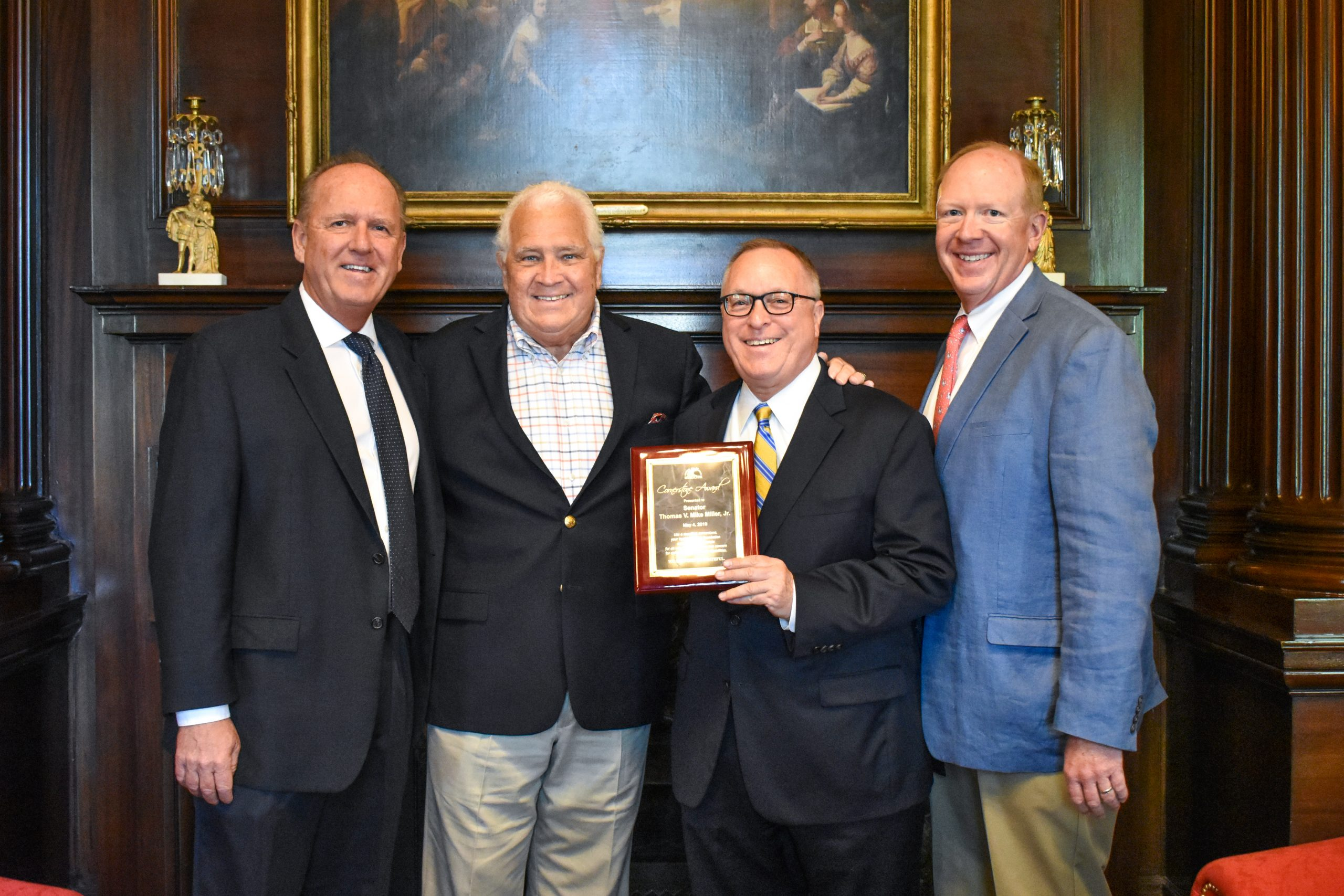 Sen. Mike Miller receives Benedictine's Cornerstone Award