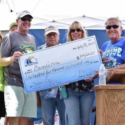 Chrome City Ride raises over $105K for Benedictine