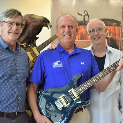Paul Reed Smith donates guitar to benefit Benedictine's Chrome City Ride