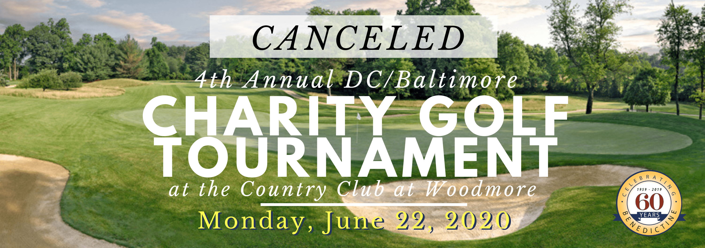 The 4th Annual DC Area Charity Golf Tournament, hosted by Thad Fletcher to benefit Benedictine